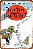 HONGXIN Les Aventures De Tintin Tintin Au Tibet Retro