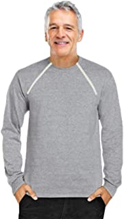 ComfyChemo CHEMOWEAR : : Men's Long Sleeve Chemotherapy...