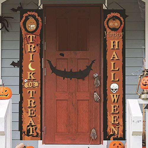 SQINAA de Halloween Banners Porche Set Signo Aplicada Muchos