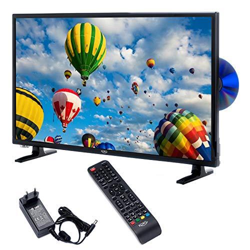 Xoro HTC 2448 60 cm (24 Zoll) LED Fernseher (HD, Triple Tuner DVB - S2/T2/C),  H.265/HEVC - Decoder, PVR Ready, Timeshift, HD Mediaplayer und CI+ Schacht)