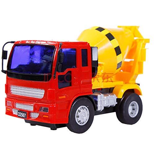 Bau LKW Geschichte Trägheit Kind Junge 3-6 Jahre alt Spielzeug Auto kleinen Gabelstapler Bagger Straßenwalze Bulldozer Bagger Mixer LKW Abschleppwagen-Small Mixer
