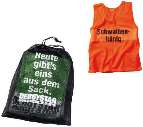 Derbystar Markierungshemdchen 10er-Set, Senior, orange, 6823050700