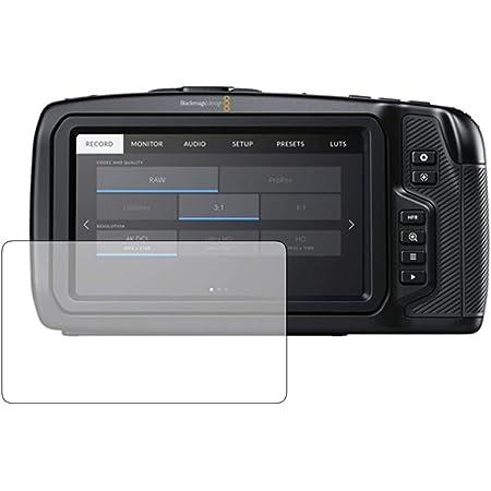 メディアカバーマーケット 【専用】Blackmagic Pocket Cinema Camera 4K / Blackmagic design 機種用【強化 ガラスフィルム 同等の硬度9H ブルーライトカット 光沢 改訂版 液晶保護 フィルム】