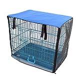 WXYLYF Hundekäfigabdeckung Haustier Zwingerabdeckung Haustier Mückenabdeckung Netz Wasserdicht Staubdichte Belüftung Hundekistenabdeckung Passend Für Draht Hundekiste