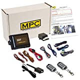 MPC Complete 4-Button Remote Start Keyless Entry Kit for 2002-2004 Ford F-350 - Firmware Preloaded