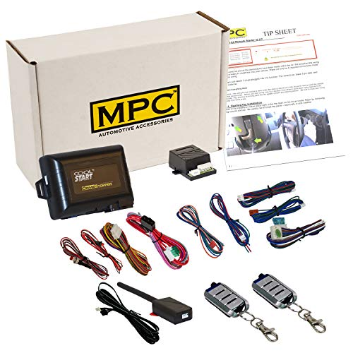 MPC Remote Start & Keyless Entry for 2000-2006 Ford F250|F350. Includes Two Long-Range (1500') 4-Button Remotes, Premium USA Tech Support