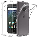 Tektide Case Compatible Moto E4, [Invisible Armor] Xtreme Slim, Clear, Soft, Lightweight, Shock Absorbing TPU Rubber Bumper Case/Back Cover