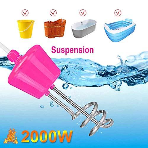 2000W Suspension Tauchsieder Edelstahl Für Aufblasbare Pool Badewanne Badewanne