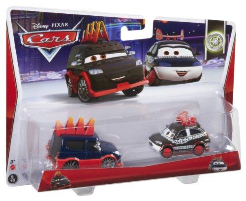 Disney Pixar Cars Yokoza & Chisaki (Tuners, #6, #7 of 10)