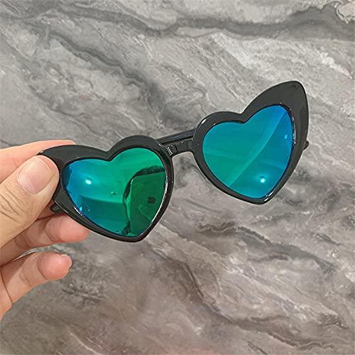 WQZYY&ASDCD Gafas de Sol Gafas De Sol Uv400 Espejo Visor Goggles-Green