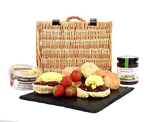 Cream Tea Hamper with Fruit Scones