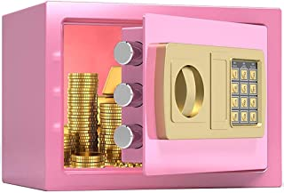 Cabinet Safes, Safe Wall Safes for Home,Small in-Wall Electronic Insurance Cabinet, Household Children and Adults All-Stee...