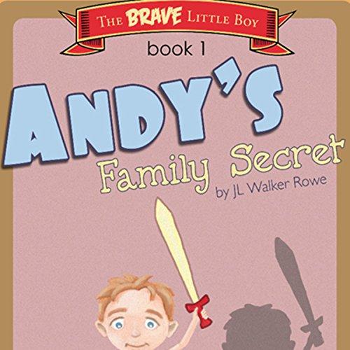 Andy's Family Secret audiobook cover art