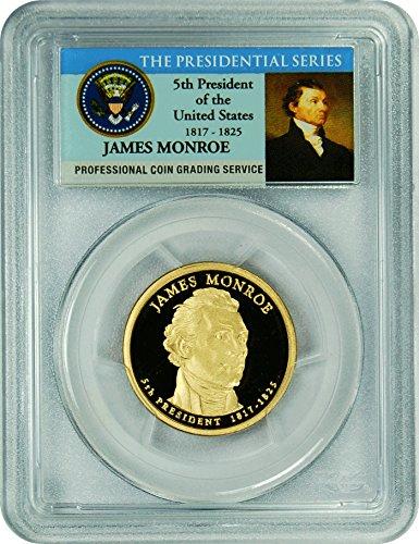 2008 Monroe Presidential Dollar PR-70 PCGS DCAM