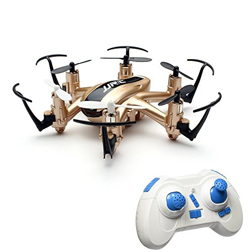 JJRC H20 2.4G 4CH 6-Axis Giroscopio Nano Hexacopter RTF Quadcopter Drone (Oro)…