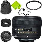 Nikon AF-S NIKKOR 50mm f/1.8G Lens Base Bundle