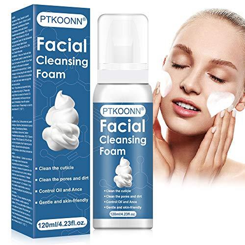 Gesichtspeeling, Reinigungsschaum für Gesicht, Peeling Reinigungsschaum, Gesichtspflege porentiefe Reinigung, Schaum für sanfte Gesichtspflege, für empfindliche Haut geeignet