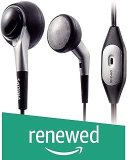(Renewed) Philips SHM3100U/97 in-Ear PC Headset (Black)