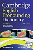Cambridge English Pronouncing Dictionary: Eighteenth edition. Paperback + CD-ROM
