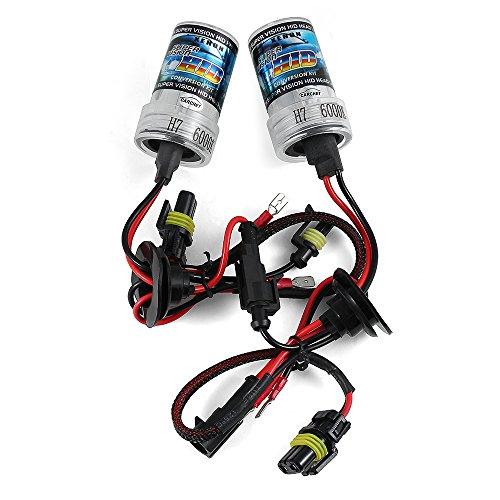 2 X H7 HID Ampoule Lampe Xénon 35W 6000K 3200LM 12V Blanc Voiture