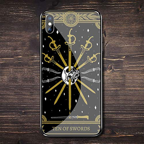 Inspired by Tarot Cards Phone Case Compatible With Iphone 7 XR 6s Plus 6 X 8 9 11 Cases Pro XS Max Clear Iphones Cases TPU- New- Phone- Vaporesso- Angel- Angel- 4000400606491