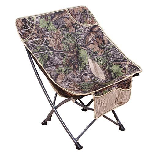 Outdoor Camping Tafel stoelen Camping Cot Wood Grain Camping Furniture Folding Vissen Stoel telescooptafel (Color : A)