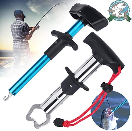 Easy Fish Hook Remover Squeeze Out Fish Hook Separator Tools and Fishing Pliers Fish Lip Gripper product image