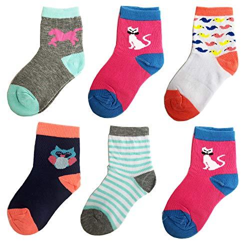 Libella 12er Kinder Mädchen Socken Kids Strümpfe Kindersocken bunt 2113 27-30