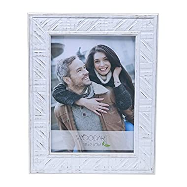 WoodArt Wooden Picture Frame (8x10 , Vintage White)