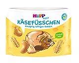 Hipp Kinder Knabberprodukte, Käsefüsschen, 6er Pack (6 x 28 g)
