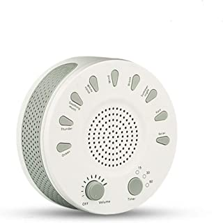 WTTHCC Máquina de Terapia de Sonido de Ruido Blanco con 9 relajantes Sonidos Naturales musicoterapia Dispositivo de suspen...