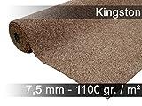 exteriortrend Komfort Kunstrasen Rasenteppich mit Noppen Kingston Beige in 19 Größen