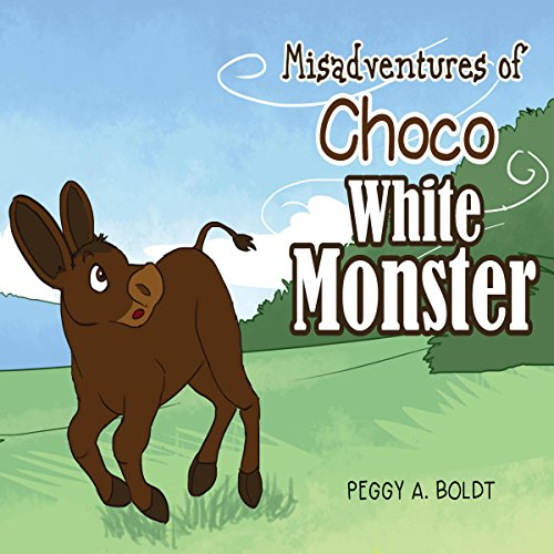 Misadventures of Choco: The White Monster audiobook cover art