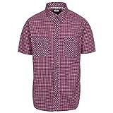 Trespass Uttoxeter p s Camisa, Hombre, pnk, XL