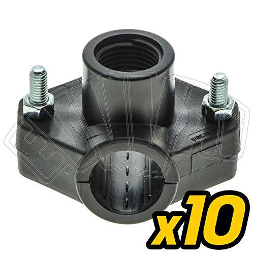 Gebo PE-Rohr Anbohrschelle DN 32x1/2