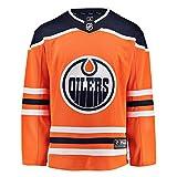 Fanatics NHL Eishockey Trikot Jersey Edmonton Oilers Breakaway by Home orange -