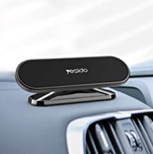 360º Rotate Universal Magnetic Car Mount Dash Phone Holder for iPhone Galaxy GPS - YESIDO 2020 Super Flex Edition
