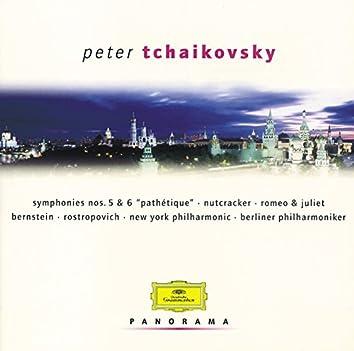 "Tchaikovsky: Symphonies No.5 & No.6 ""Pathétique""; Nutcracker; Romeo & Juliet"