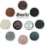 Eyeshadow Palette - Mineral Makeup Eye shadow Powder and Contouring Palette .28 oz | Pure, Non-Diluted Shimmer Mineral Make Up in 8 Smoky Eye Shades