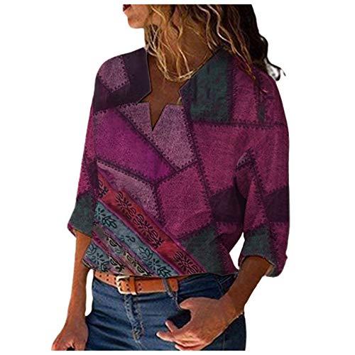 Sudaderas con capucha para tirar de la capucha, para que sufra una capa de varias capas y para que te sientas bien. violeta M
