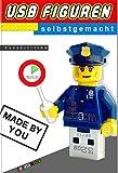 USB Figuren selbstgemacht: USB Sticks in Lego Figuren I Bauanleitung I databrick (dt. Version)