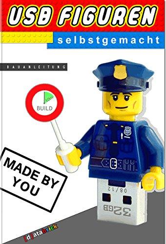 USB Figuren selbstgemacht: USB Sticks in Lego® Figuren I Bauanleitung I databrick (dt. Version)