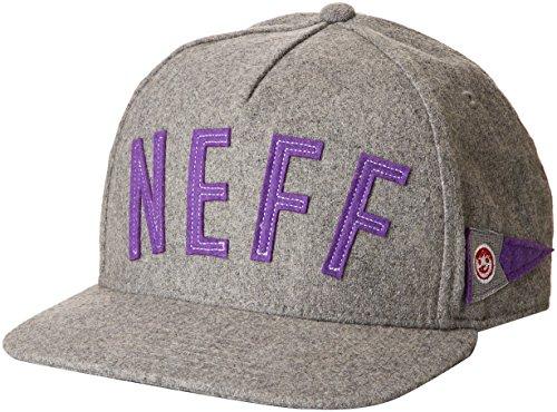 NEFF Felty Cap Adjustable Casquette Mixte Adulte, Gris, FR : (Taille Fabricant : U)