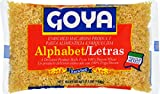 Goya Foods Alphabet (Letras) Pasta, 7-Ounce (Pack of 20)