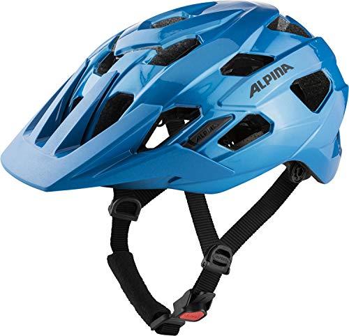 Alpina Unisex– Erwachsene ANZANA Fahrradhelm, True-Blue Gloss, 52-57 cm