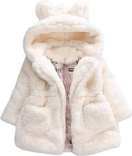Manteau B/éb/é Gar/çon Fille Mignon /à La Mode Hiver Chaud Tricot/ée Manteau /À Capuche Chic Pull Cardigan Jacket pour 3-24 Mois LABIUO Veste en Tricot/é Enfant