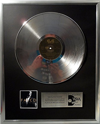 Falco - Junge Roemer Römer platin Schallplatte (goldene gold record)