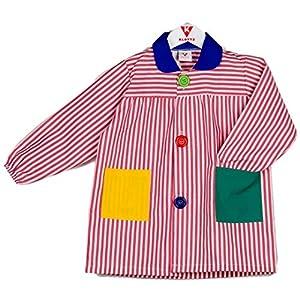 KLOTTZ - BABI RAYAS COLEGIO Niñas color: ROJO talla: 6