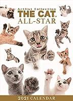 THE CAT 卓上カレンダー 猫 キャット オールスター 2021年 アーリスト ザドッグ ザ ドッグ