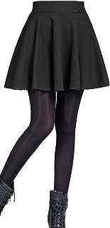 Mini Corto Elástica Plisada Básica Falda (Made in Italy) - Mujer